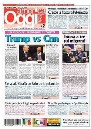 Calameo America Oggi 3 Luglio 2017