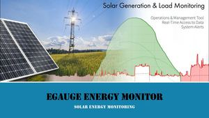 Solar Energy Monitoring using eGauge | Solar Protection Relay
