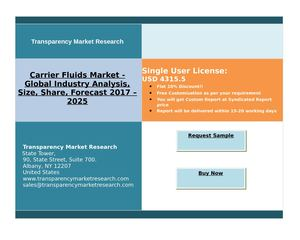Carrier Fluids Market - Global Industry Analysis and Forecast | 2025