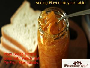 Adding Flavours To Your Table -  Peach hut