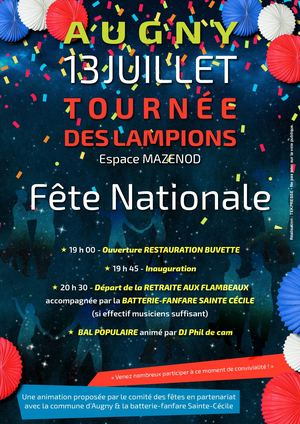 AUGNY - FETE NATIONALE 2017