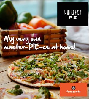 Treat Yourself With Awesome Pizza Delivered Right To Your Doorstep From Project Pie With Food Panda92969 92969