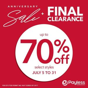 Anniversary Sale Final Clearance With Up To 70 Off At Payless Shoe Source Until July 31 2017 92980