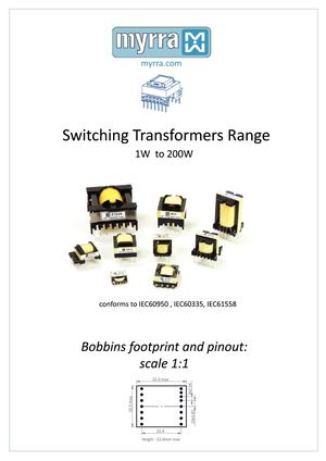 Switching Transformers Range Guide