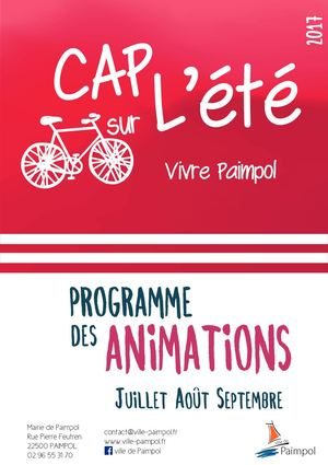 Programme Animations été 2017