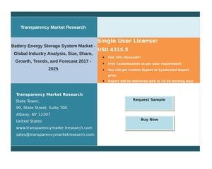 Battery Energy Storage System Market  - Global Industry Analysis and Forecast | 2024