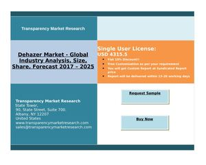 Dehazer Market - Global Industry Analysis and Forecast | 2025