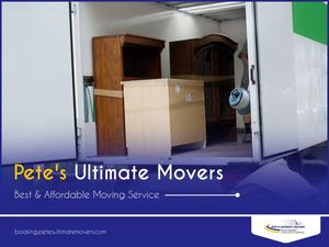 Affordable Moving Labor Services - Pete's Ultimate Movers