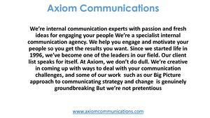Axiom Communications