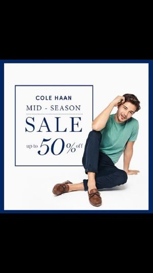 Mid Season Sale With Up To 50 Off At Cole Haan Valid Until August 31 2017 93016