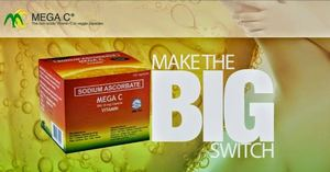 Make The Big Switch To Mega C Vitamin Available In Leading Drugstores93017 93017