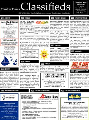 Classifieds July 6, 2017