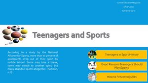 Teenagers and Sports