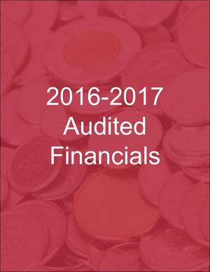 2017 Audited Financial Statement Cover 070717