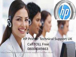 HP Printer Technical Support UK 08004049463