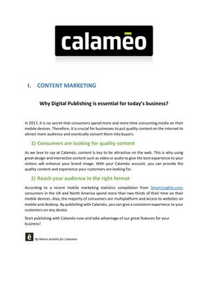 Why Digital Publishing Is Essential For Today Cs