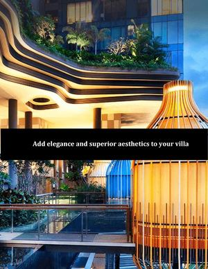 Add Elegance And Superior Aesthetics To Your Villa