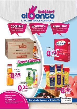 Volantino CiConto Cash and Carry N°43