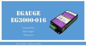 How eGauge EG3000-016 works? eGauge | Comap IntelliPro