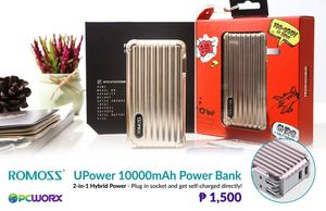 Get This Romoss Upower Your All In One Travel Mate For Only P1500 At Pcworx 93024