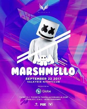 Catch Marshmello As He Takes On The Valkyrie At The Palace On September 22 2017 93038