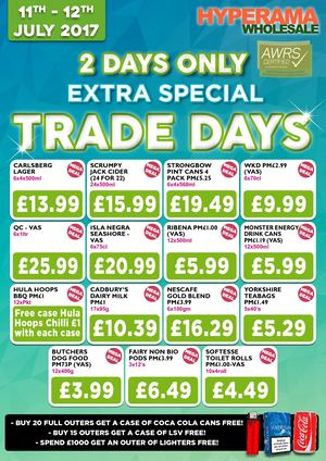 Trade Day 11 7 17 P Boro Only