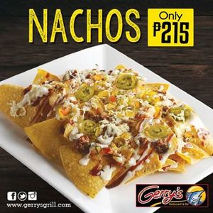 Start Your Bonding With Family Friends With Nachos At Gerrys Grill Restaurant 93053