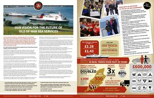 OUR VISION FOR THE FUTURE OF ISLE OF MAN SEA SERVICES