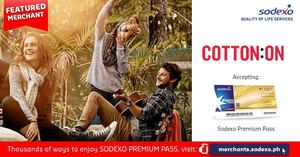 Get The Latest Fashion Forward Show Stoppers With Your Sodexo Premium Pass At Cotton On93057 93057