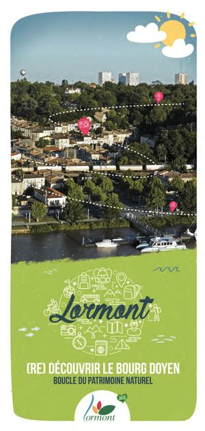 Découvrez toute la richesse du #patrimoine de #Lormont grâce à la boucle du patrimoine ! fr.calameo.com/read/003437377… #gironde #promenade #famille #activité #histoire