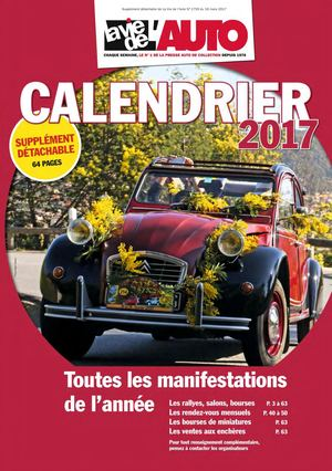 Exemplaire Calendrier 2017