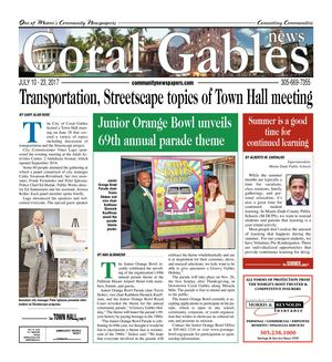 Coral Gables News 07.10.2017