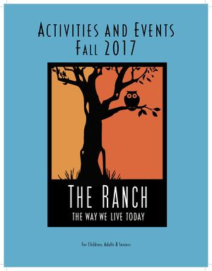 The Ranch Fall 2017 Activity Guide