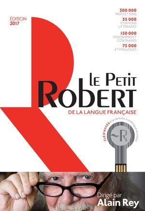 f4705e7d3fabc5 Dictionnaire Le Petit Robert de la langue française et sa clé d accès au  dictionnaire