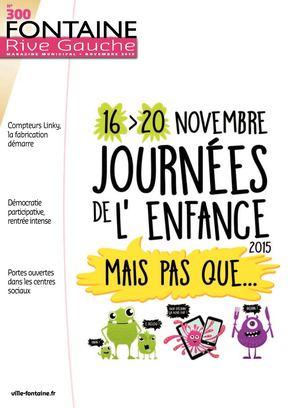 Fontaine Rive Gauche 300 Novembre 2015