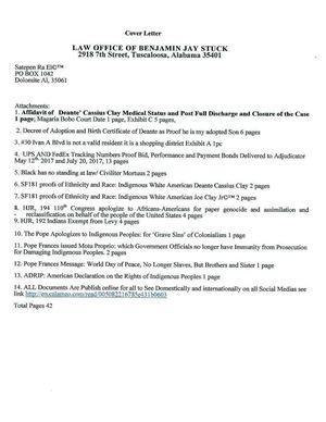 Calaméo - Deante' Affidavit Jay Stuck Doc Appointments Medical Status 1a