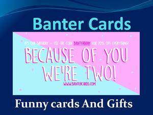 4 Hilarious Statements on Funny Cards – The Banter Cards
