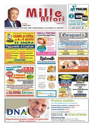 Calaméo - Milleaffari N°31 Del 02.08.17 6d92818c344