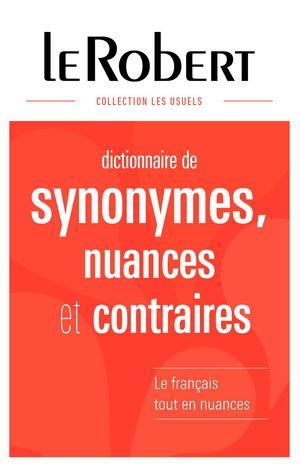 Calameo Dictionnaire Des Synonymes Nuances Et Contraires Grand