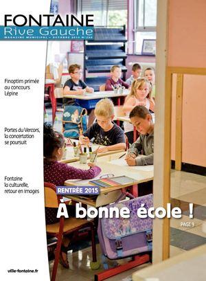Fontaine Rive Gauche 299 Octobre 2015