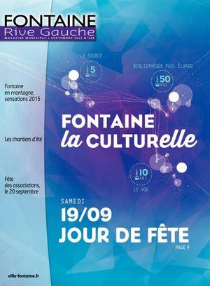 Fontaine Rive Gauche 298 Septembre 2015