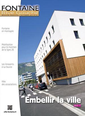 Fontaine Rive Gauche 287 Septembre 2014