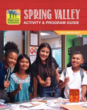 Spring Valley Program Guide - Fall/Winter 2017
