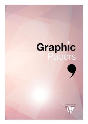 Catalogue de Papiers Graphiques by Clairefontaine