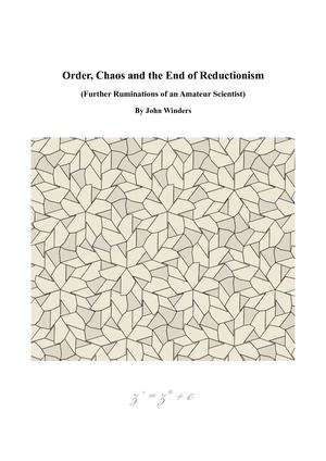Order and chaos essay