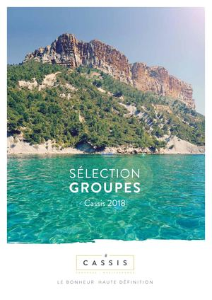 Brochure Groupes Cassis 2018