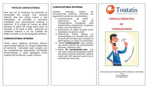 Cartilla Convocatorias