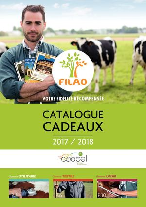 Catalogue Filao Coopel 2017 2018
