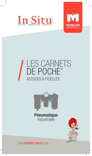 Pneumatique industrielle - Carnet de poche In Situ experts hydrauliciens - 03/10