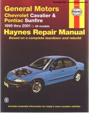 calam o repair manual chevrolet cavalier 1995 2001 fixed rh calameo com